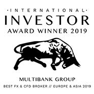 """被国际投资者评选为""""2019年亚欧最佳外汇和差价合约经纪商"""""""